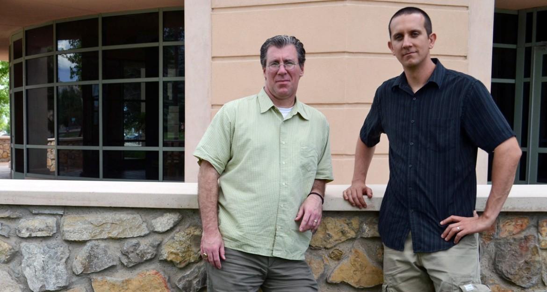 Trip Jennings, left, and Heath Haussamen