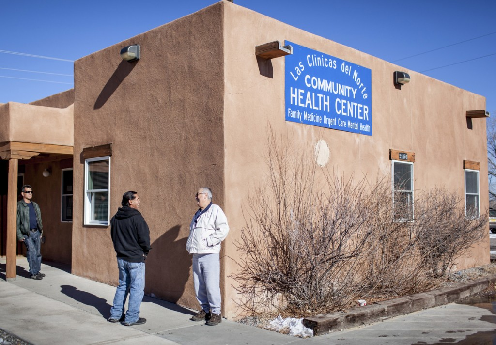 Las Clinicas Del Norte in Abiquiú, a community health center shown here, serves everyone, regardless of whether they are insured. The clinic would be available to people who receive insurance through the proposed health insurance exchange. (Craig Fritz/New Mexico In Depth)