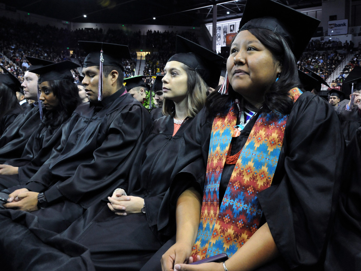 Finding community is key to college graduation for Native Americans ...