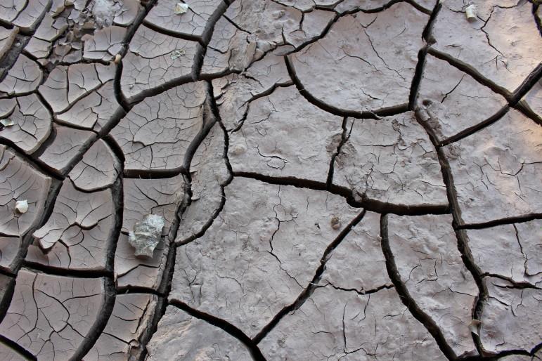 Warmer temperatures mean drier soils.