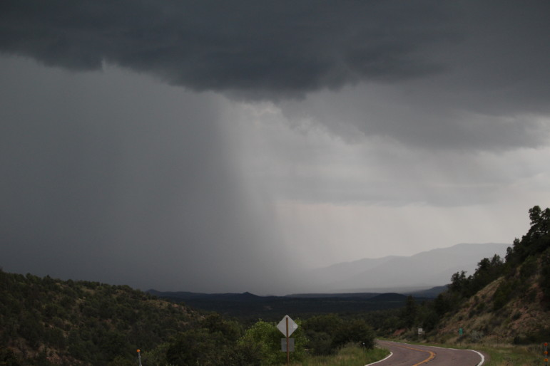 Summer monsoons hit the Gila National Forest this summer, bringing welcome rains.
