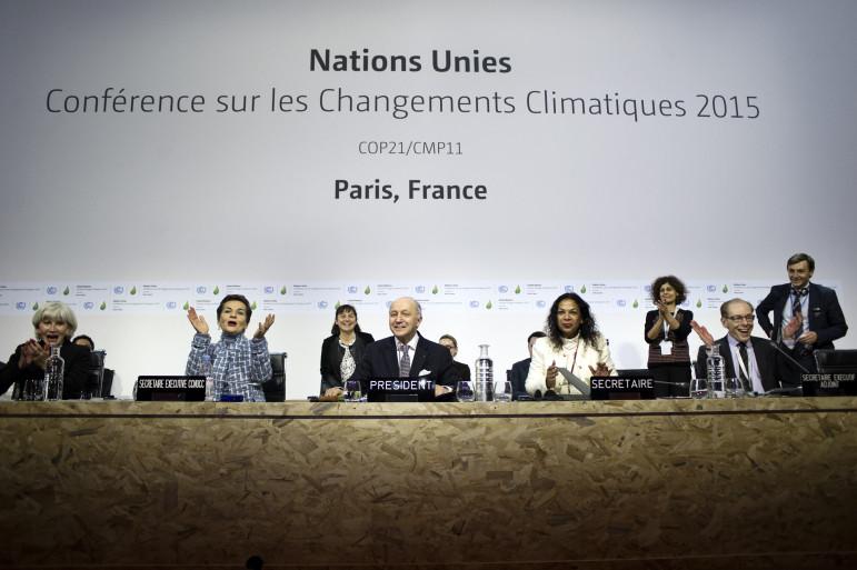 Photo from UNCOP Paris. https://www.flickr.com/photos/cop21/albums/with/72157659994269643