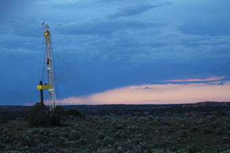 Statewide, the number of rigs drilling new oil wells is less than half what it was last year.