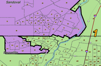 The 2011 Congressional district map had to be finalized by a judge.
