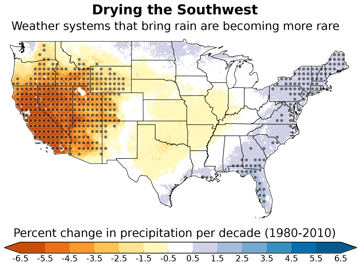 New Study: drier southwest is already here - New Mexico In ...