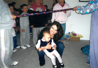 Jeanette Anaya with her niece