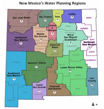 NM Water Planning Regions