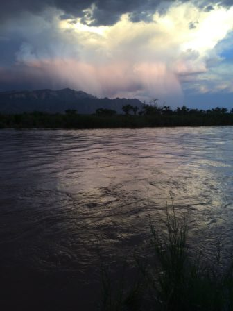 In early June, the Middle Rio Grande.
