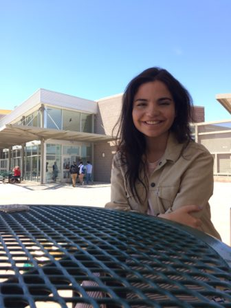 Jacqueline Greene graduated from Bosque School last spring--but not before trying to help educate fourth graders about climate change.