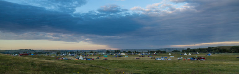 Dakota Access Pipeline protest at the Sacred Stone Camp near Cannon Ball, North Dakota. Credit: Tony Webster/flickr