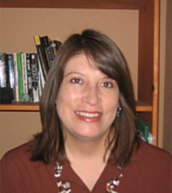 Tiffany Lee, Ph.D. (Dine/Lakota) – Native American Studies Associate Director, University of New Mexico. Credit: Photo courtesy of UNM