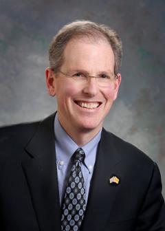 Sen. Majority Leader Peter Wirth, D-Santa Fe